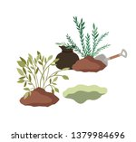 trees to plant isolated icon | Shutterstock .eps vector #1379984696