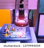 robotic vision sensor camera... | Shutterstock . vector #1379994059