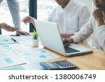 asian advertising designer... | Shutterstock . vector #1380006749