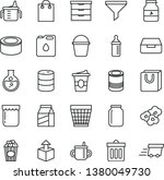thin line vector icon set  ... | Shutterstock .eps vector #1380049730