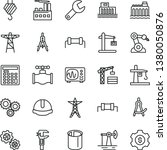thin line vector icon set  ... | Shutterstock .eps vector #1380050876