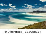 whitehaven beach  queensland ... | Shutterstock . vector #138008114