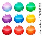 colorful round  circle glossy...