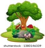a beautiful nature landscape... | Shutterstock .eps vector #1380146339