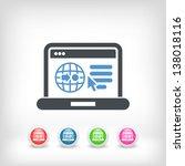 illustration of computer... | Shutterstock .eps vector #138018116