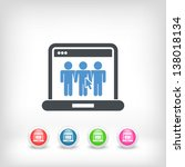 illustration of computer... | Shutterstock .eps vector #138018134
