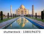 Small photo of Taj Mahal, One of the Seven Wonders in the World & its Premises