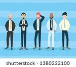 diversity man person   Shutterstock .eps vector #1380232100