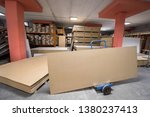 production department of a big... | Shutterstock . vector #1380237413