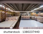 production department of a big... | Shutterstock . vector #1380237440