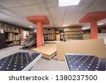production department of a big... | Shutterstock . vector #1380237500