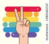 lgbt pride love | Shutterstock .eps vector #1380260210