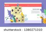dice gambling online casino... | Shutterstock .eps vector #1380271310