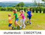 joyful activity and lesson for... | Shutterstock . vector #1380297146