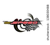 speed concept vector | Shutterstock .eps vector #138030488