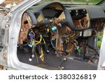 disassembled panel of an old...   Shutterstock . vector #1380326819