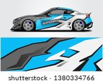 livery decal car vector  ... | Shutterstock .eps vector #1380334766