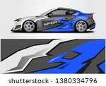livery decal car vector  ... | Shutterstock .eps vector #1380334796