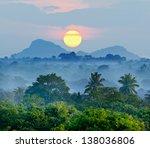 Sunrise In The Jungles Of Sri...