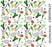vector seamless pattern of...   Shutterstock .eps vector #1380400619