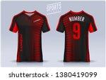t shirt sport design template ...   Shutterstock .eps vector #1380419099
