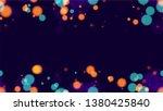 defocused night city landscape...   Shutterstock .eps vector #1380425840