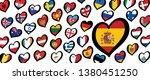 song festival euro songfestival ... | Shutterstock .eps vector #1380451250