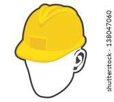 construction worker icon | Shutterstock .eps vector #138047060