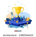 trendy flat illustration. best... | Shutterstock .eps vector #1380506633