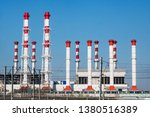 combined heat and power plant | Shutterstock . vector #1380516389