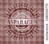 asparagus red seamless emblem...   Shutterstock .eps vector #1380534770