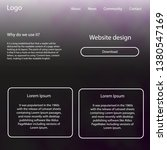 light purple vector design ui...