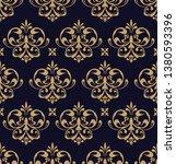 beautiful damask pattern. royal ... | Shutterstock . vector #1380593396