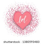 happy valentine's day.... | Shutterstock . vector #1380593483