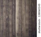 Dark Brown Wood Plank Wall...