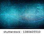 2d rendering stock market...   Shutterstock . vector #1380605510