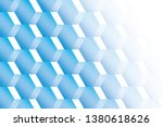 abstract geometric white and... | Shutterstock .eps vector #1380618626