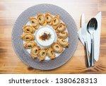 turkish traditional manti food. ... | Shutterstock . vector #1380628313