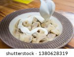 turkish traditional manti food. ... | Shutterstock . vector #1380628319