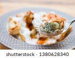 turkish traditional manti food. ... | Shutterstock . vector #1380628340