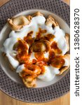 turkish traditional manti food. ... | Shutterstock . vector #1380628370