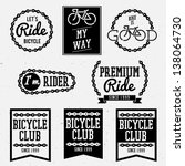 Bicycle Club Badges Back And...
