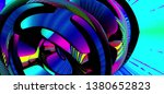 colorful 3d marble core... | Shutterstock . vector #1380652823