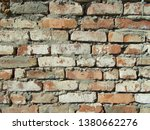 brick wall in the  interior | Shutterstock . vector #1380662276