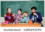 chemistry themed club. group... | Shutterstock . vector #1380693290