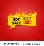 hot sale price offer deal... | Shutterstock .eps vector #1380714629