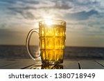 British Dimpled Glass Pint Mug...