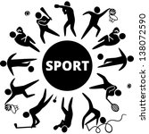 world of sports. vector... | Shutterstock .eps vector #138072590