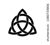 celtic trinity knot | Shutterstock .eps vector #1380735806