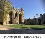 Peterborough Cathedral Basking...